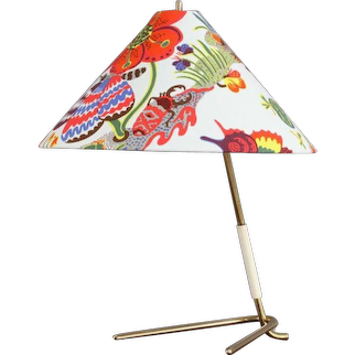 Table Lamp by J.T. Kalmar, Vienna, 1950