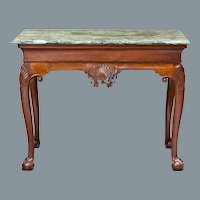 George III Console Table, Possibly Irish