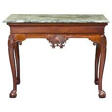 George III Console Table, Possibly Irish