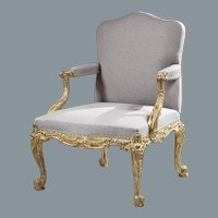 Giltwood Gainsborough Armchair