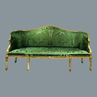 Gilded Settee in the Manner of Robert Adam