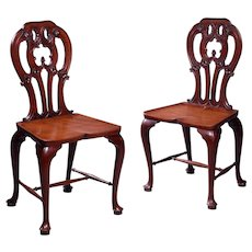 George III Hall Chairs