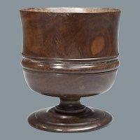 Lignum Vitae Treen Wassail Bowl