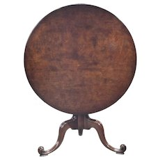 Tilt Top Tea Table
