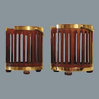 Pair of Plate Buckets