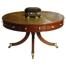 Regency Drum Table
