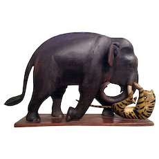 Elephant and Tiger Toy
