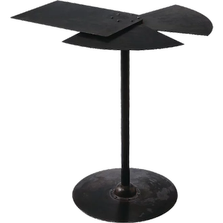 "Pierre Chareau reedition ""Fan"" table"