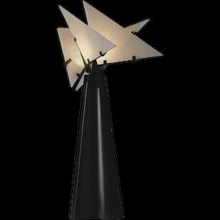 "Pierre Chareau reedition ""Nun"" desk lamp"