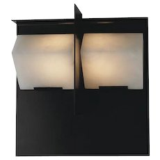 """Pierre Chareau reedition """"Mask"""" 5.7'' sconce"""