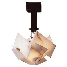 Pierre Chareau reedition Boule ceiling lamp
