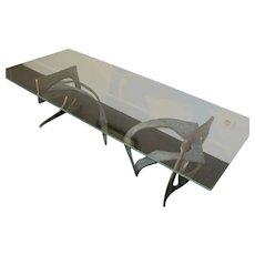 Bronze low table