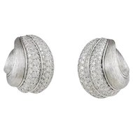 Dunay Diamond & Platinum Earrings