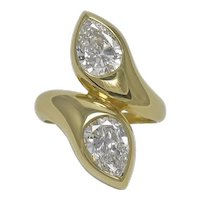 Bvlgari Moi & Toi 18K Yellow Gold Ring