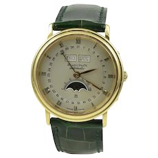 Blancpain Villeret Moonphase with Complete Calendar 18K Rose Gold Watch