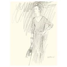 The Duchess Of Windsor By Rene Bouche