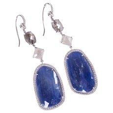 Nina Runsdorf Custom Slice Earrings