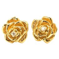 Tiffany & Co.  Diamond Rosette Earrings