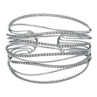 Georgios & Co., Greece-Diamond Cuff Bracelet
