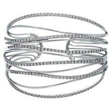 Georgios & Co., Greece-Diamond Cuff Bracelet