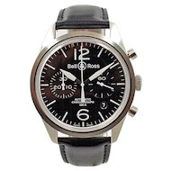 Bell & Ross Vintage 126 Chronograph Automatic BR126-94-SP