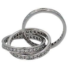Cartier Trinity White Gold with Diamonds