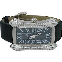 Carl F. Bucherer Lady's White Gold Diamond Alacria Quartz Wristwatch