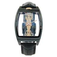Corum Golden Bridge Ceramic Watch 113.161.15/0001 000R