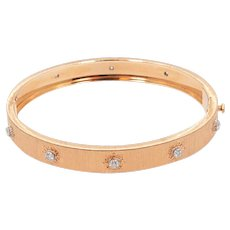 18K Rose Gold Buccellati Bangle