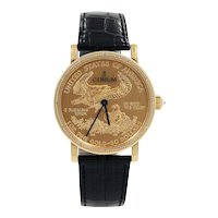 "Corum Heritage Coin $50 ""50th Anniversary"" Limited Watch"