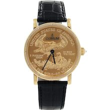 """Corum Heritage Coin $50 """"50th Anniversary"""" Limited Watch"""