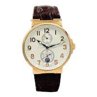 Ulysse Nardin Rose Gold Marine Chronometer 1846 Wristwatch