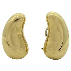 18K Yellow Gold Elsa Peretti Earrings
