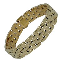 Cartier Maillon Panthere Gold Link Bracelet