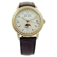 Blancpain Leman Moonphase 18K Yellow Gold