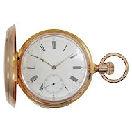 Patek Philippe 5-Minute Repeater 18K Pocket Watch