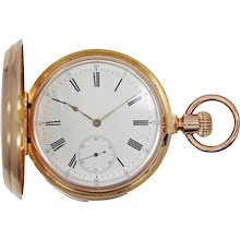 Patek Philippe 5-Minute Repeater 18K Pocket Watch