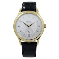 Chopard Yellow Gold L.U.C. Ltd. Ed. Self Winding Wristwatch