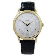 Chopard Yellow Gold L.U.C. Ltd. Ed. Self Winding Wristwatch