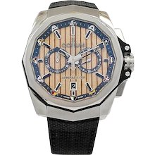 Corum Stainless Steel Admiral's Cup AC-One 45 Chronograph Wristwatch