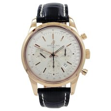 18K Rose Gold Breitling Transocean Chronograph RB015212/G738