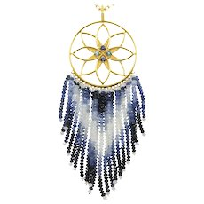 20K Buddha Mama Dream Catcher Necklace