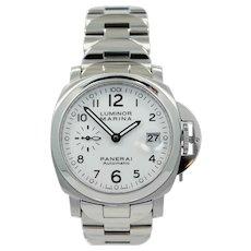 Panerai Luminor 40 Marina Automatic Wristwatch Model PAM00051