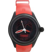 Corum Limited Edition Bubble Red and Black Skull 47 Automatic WristWatch