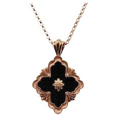 18K Buccellati Opera Collection Pendant Necklace