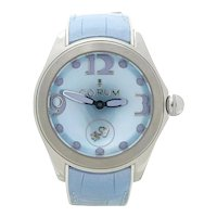 Corum 42 Blue Mother Of Pearl Automatic WristWatch