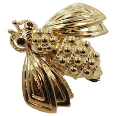 18K Tiffany & Co. Bee Pin