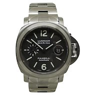 Panerai Luminor Marina Titanium Watch Pam000279