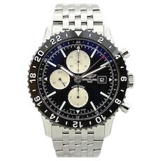 Breitling Chronoliner Automatic Black Dial Men's Watch Y2431012/BE10