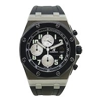 Audemars Piguet Stainless Steel Royal Oak Offshore Automatic Wristwatch